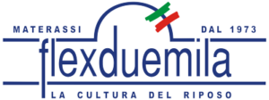 logo_flexduemila centro materassi